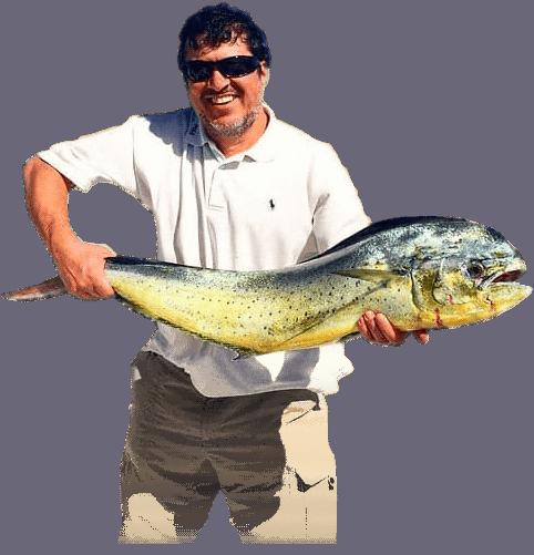man fishing pichi